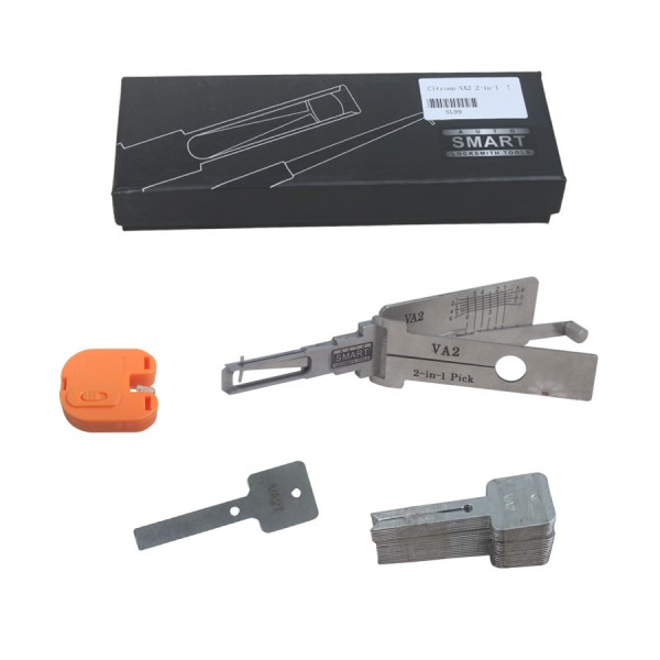 2-in-1 Auto Pick and Decoder For Citroen-VA2