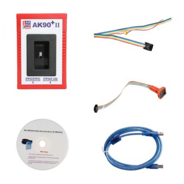 Newest BMW AK90+II Key Programmer for All BMW EWS V3.19 Version