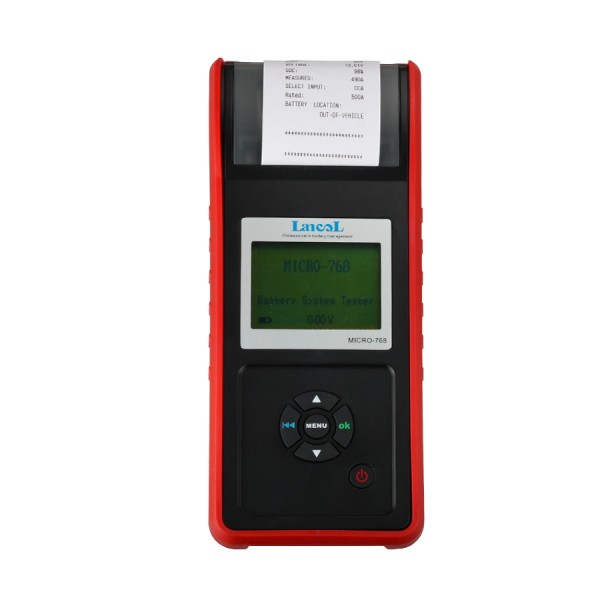 AUGOCOM MICRO-768 Series Battery Conductance & Electrical System Tester