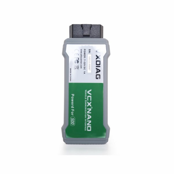VXDIAG VCX NANO for Land Rover and Jaguar Software SDD V154
