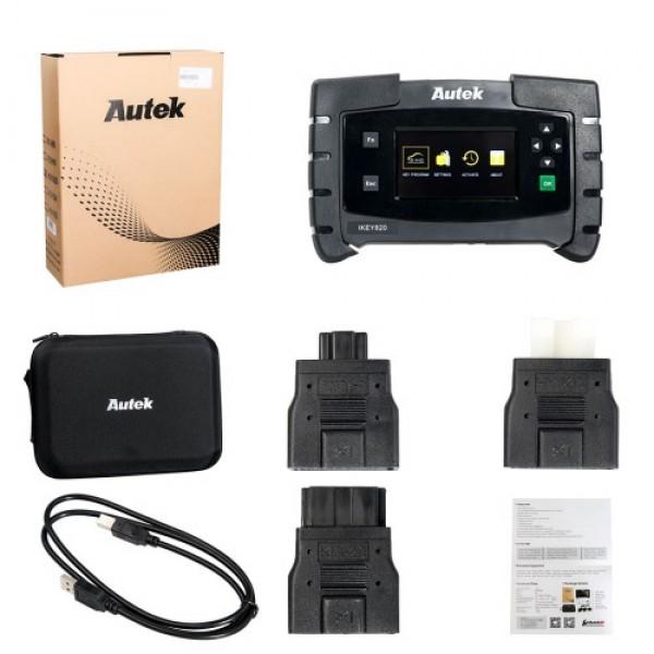 Autek IKey820 OBD2 Car Key Programmer