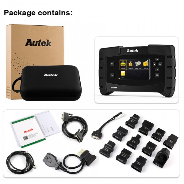 Autek IFIX969 Car Professional Automotive Scanner for Diagnosis and ECU Programming