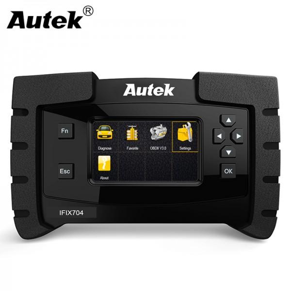 Autek IFIX704 All System Automotive Scanner for GM Ford Chrysler Toyota Lexus SAS,DPF Car Diagnostic Engine