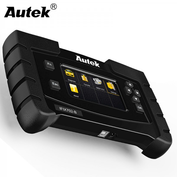 Autek IFIX704 All System Automotive Scanner for GM Ford Chrysler Toyota Lexus SAS,DPF Car Diagnostic Engine