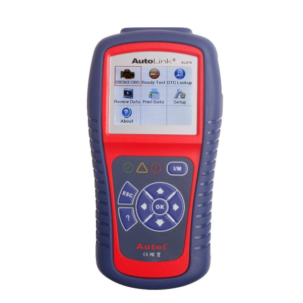 Autel AutoLink AL419 OBDII CAN Scanner Support Internet Update