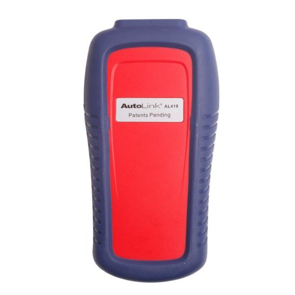 Autel AutoLink AL419 OBDII CAN Scanner Support Internet Update