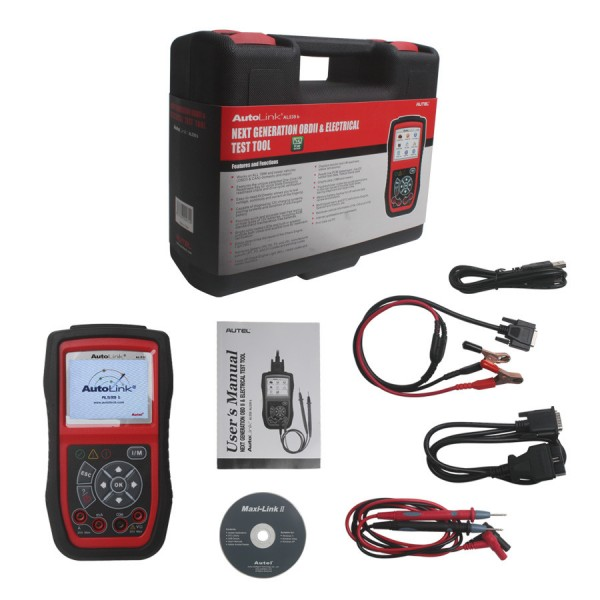 Autel AutoLink AL539B OBDII Code Reader & Electrical Test Tool Update Online Ship From US/AU