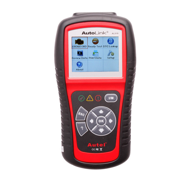 Autel AutoLink AL519 OBD-II and CAN Scanner with Multi-languages