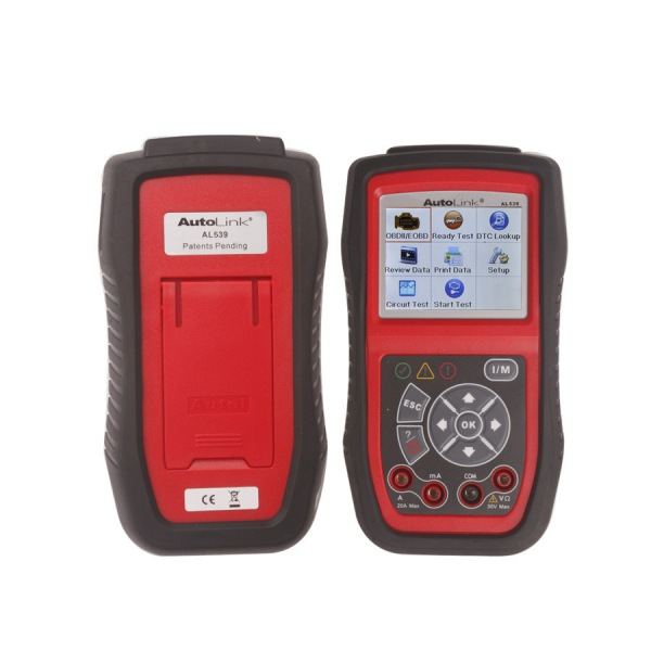 Autel AutoLink AL539 OBDII/ CAN Scan Tool Online Update