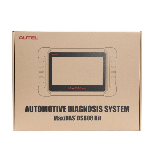 AUTEL MaxiDAS DS808K Tablet Diagnostic Tool Full Set Support Injector & Key Coding