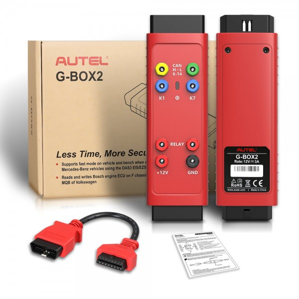 Autel G-BOX2 Tool for Mercedes Benz All Key Lost Work with Autel MaxiIM IM608/IM508