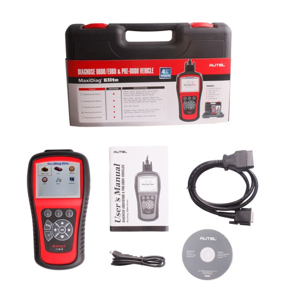 Autel Maxidiag Elite MD704 For 4 System With DS Model Diagnose Ship From UK