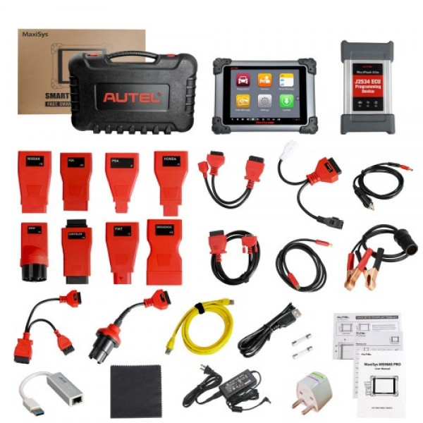 Autel MaxiSys MS908S Pro Professional Diagnostic Tool with J2534 ECU Programming Device