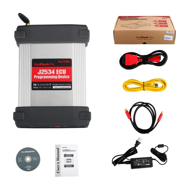 Autel MaxiFlash Pro MaxiFlash Elite J2534 ECU Programming Tool Works with Maxisys 908/ 908P