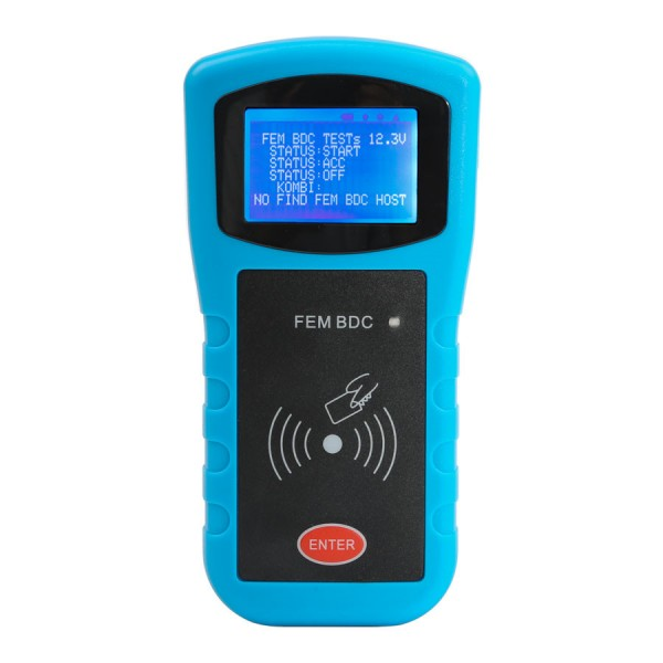 Handle BMW FEM/BDC Key Programmer Data Desktop Test Platform for FEM/BDC Key and Program ECU Gearbox