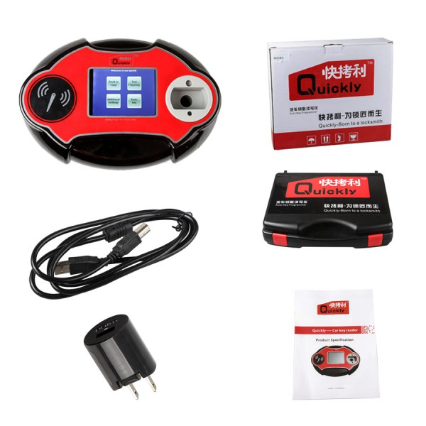Quickly 4C/4D/46/48 Code Reader Chip Transponder