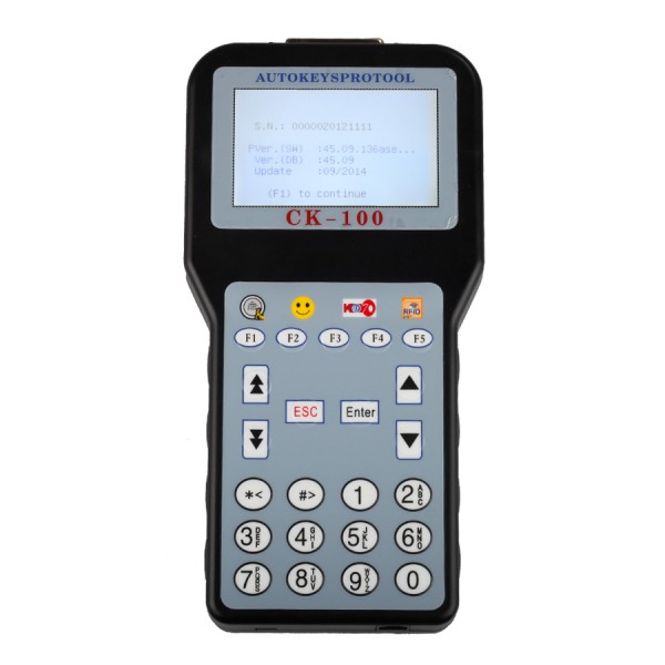Latest V45.09 CK-100 CK100 Auto Key Programmer/ Plus AT89C51CC03U NXP Fix Chip