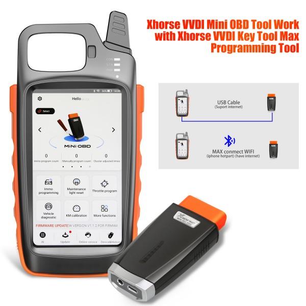 VVDI MINI OBD Tool Work with VVDI Key Tool Max