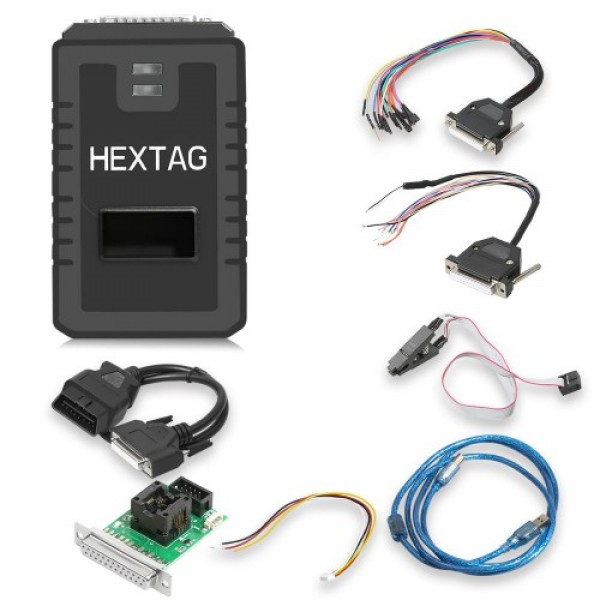 V1.0.8 Original Microtronik HexTag Programmer with BDM Funtions Newly Add Tricore Module