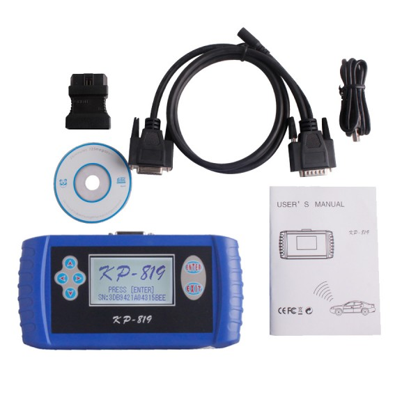 2013.4V KP-819 Auto Key Programmer For Mazda Ford Chrysler Dodge Landrover Jaguar