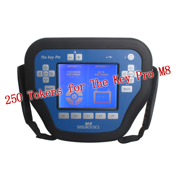 250 Tokens for Key Pro M8 Auto Key Programmer