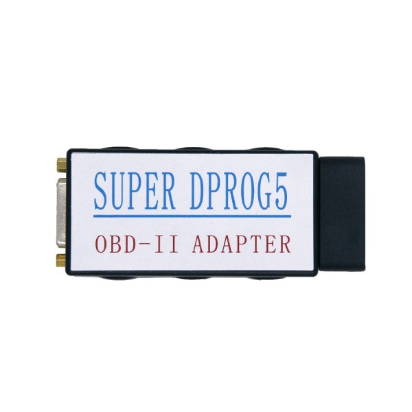 Super Dprog5 VAG PROG2 IMMO Odometer Airbag 3 in 1 Reset Tool for BMW Benz and VAG Series