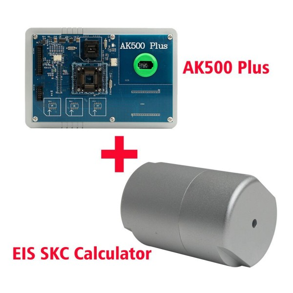 AK500+ AK500 PLUS Key Programmer for Mercedes Benz with EIS SKC Calculator