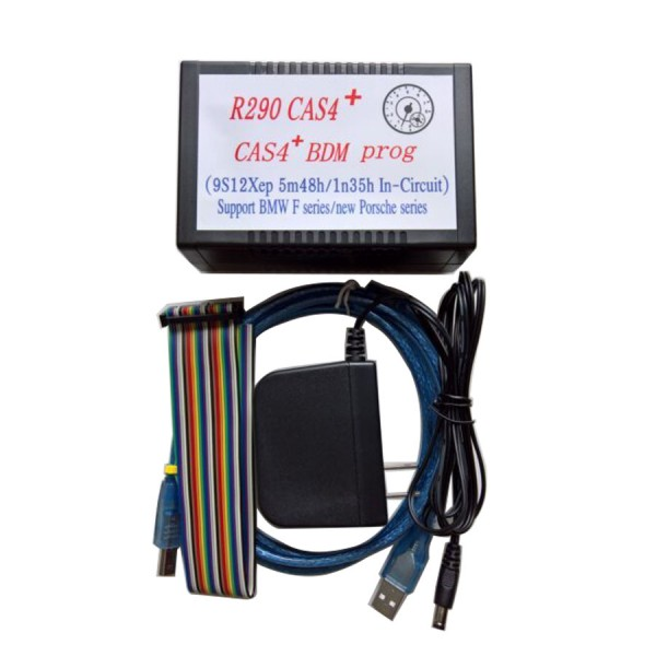 2017 R290 BMW CAS4+ BDM Programmer Supports Latest 2016 BMW and Porsche Motorola MC9S12XEP100 chip (5M48H/1N35H)