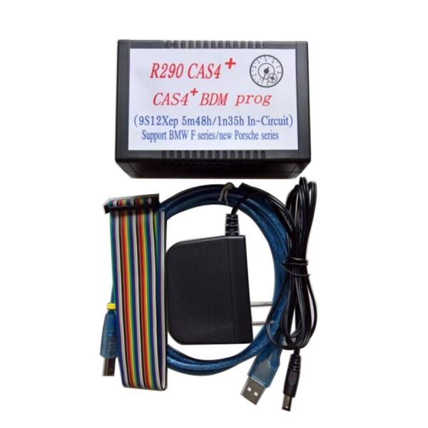 2017 R290 BMW CAS4+ BDM Programmer Supports Latest 2016 BMW and Porsche Motorola MC9S12XEP100 chip (5M48H/1N35H)