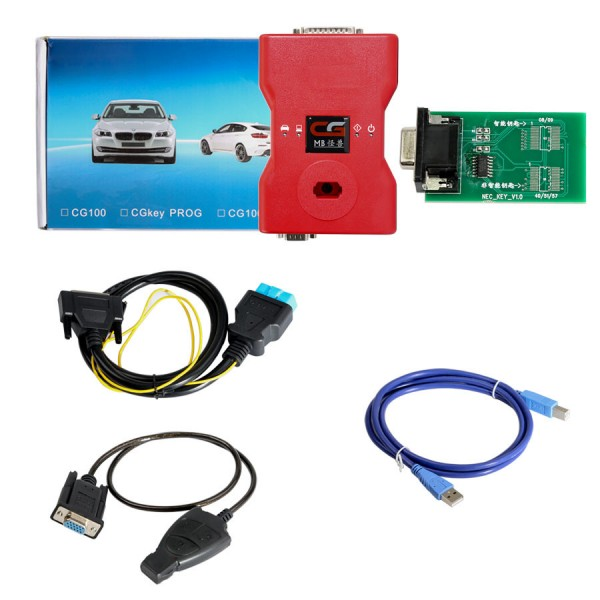 CGDI Prog MB Benz Car Key Programmer Support All keys lost Free One Tokens Each Day