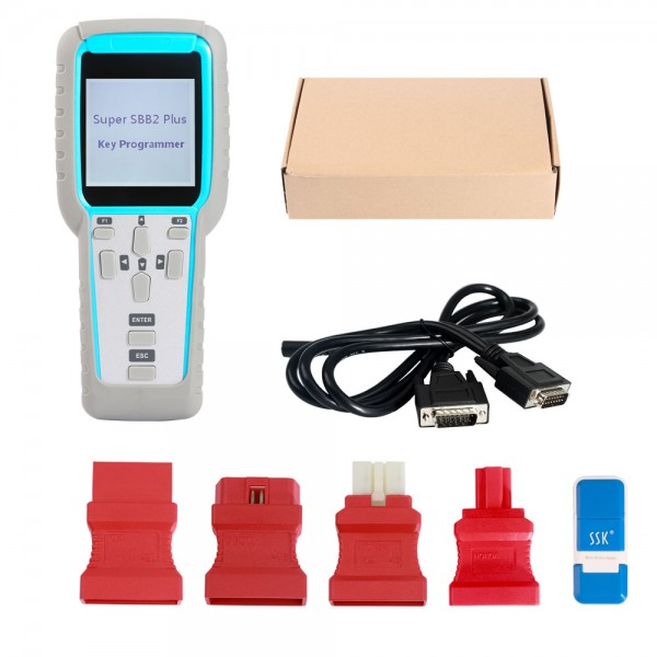Super SBB2 PLUS Auto Key Programmer for IMMO+Odometer+OBD Software Car key programmer