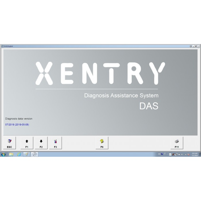 V2019 07 Das Xentry HDD Software with HHT Vediamo and DTS Manoco For Benz  SD Connect C4 C5