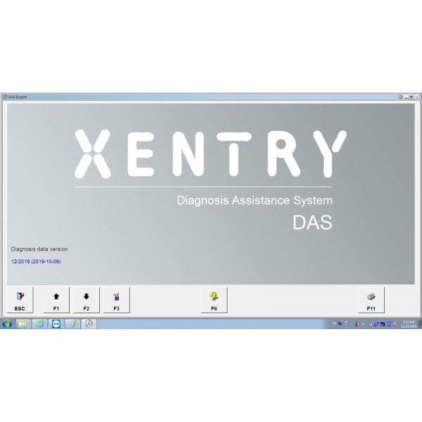V2019.12 Das Xentry HDD Software with HHT Vediamo and DTS Manoco For Benz SD Connect C4 C5