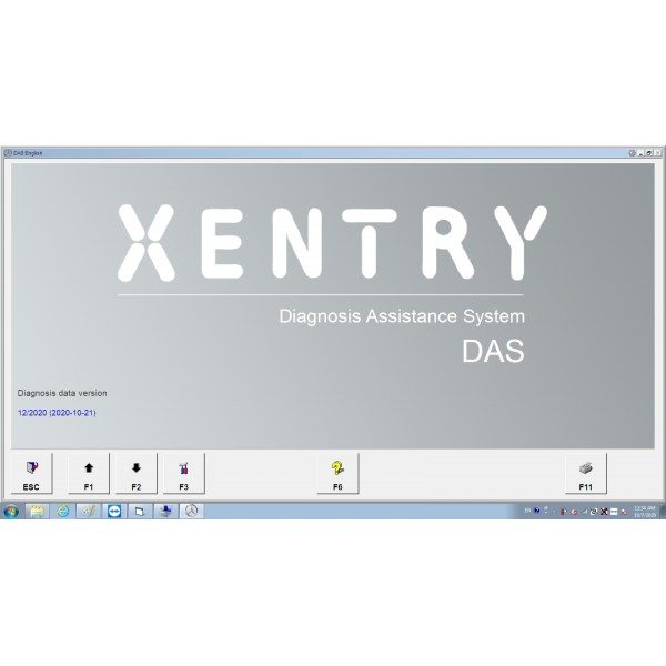 V2020.12 Das Xentry HDD Software with HHT Vediamo and DTS Manoco For Benz SD Connect C4 C5