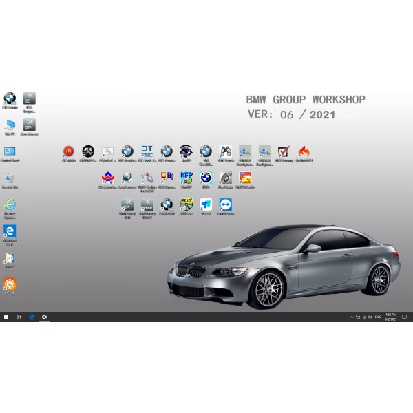 V2021.06 Win10 Rheingold ISTA-D V4.29.20 and ISTA-P V68.0.80 for BMW ICOM with Engineer Programming