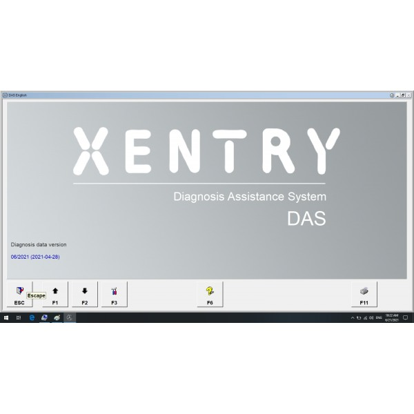 V2021.06 Das Xentry Win10 HDD Software with HHT Vediamo and DTS Manoco For Benz SD Connect C4 C5