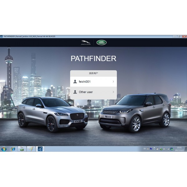 V153 JLR DoiP VCI SDD Pathfinder For Jaguar Land Rover Support Online Programming from 2005 to 2017