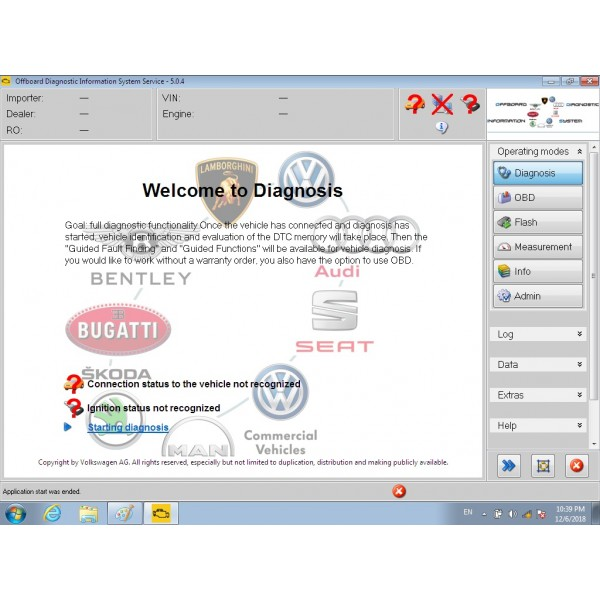 Enginner V9.22 ODIS VAS5054A V5.16 and ELsa Win v5.3 ETKA Full hard disk software