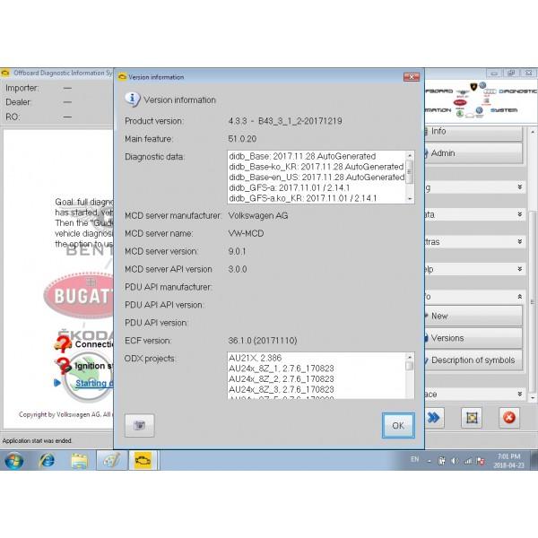 ODIS VAS5054A V4.41 and ELsa Win v5.3 ETKA Full hard disk software