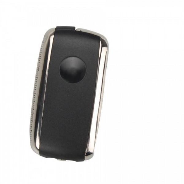 Modified Flip Remote Key Shell 3 Button for VW Seat 5pcs/lot