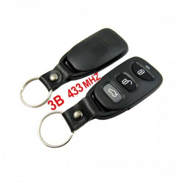 3 Button Remote Key 433MHZ for Hyundai