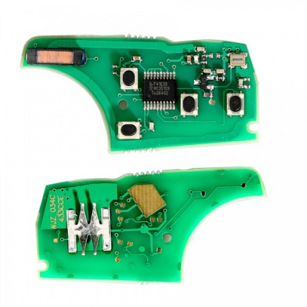 Remote Board 4 Buttons 433MHZ for Chevrolet Buick Opel