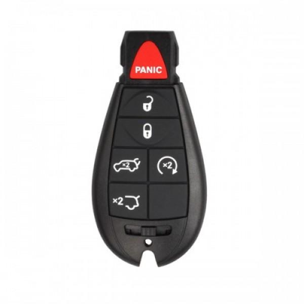 Smart Key Shell 5+1 Button for Chrysler 5pc/lot