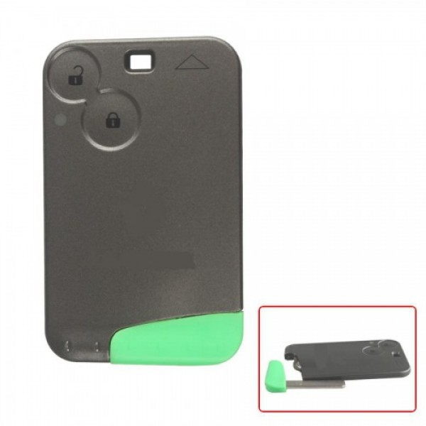 433MHZ 2 Button Smart Key With Logo For Renault Laguna