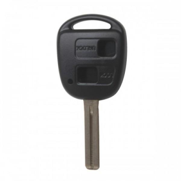 Remote Key Shell 2 Button TOY48 (Long) For Lexus 10pcs/lot