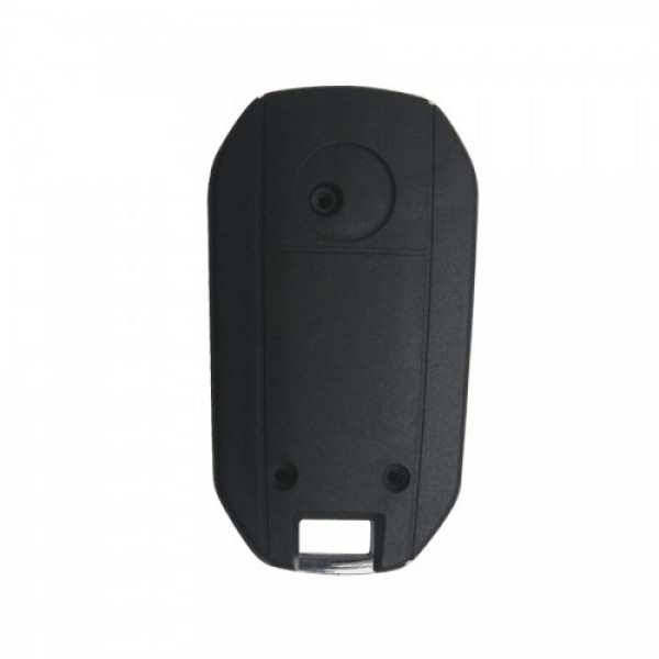 Modified Flip Remote Key Shell 2 Button (HU46) for Opel 5pcs/lot