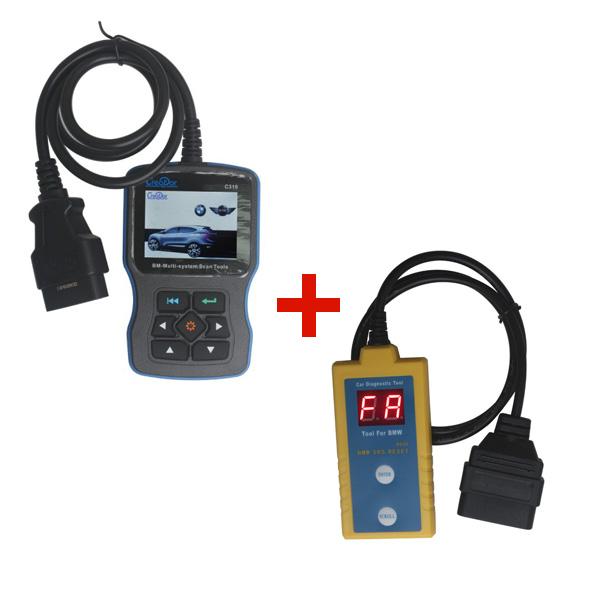 Creator C310 BMW Multi System Scan Tool V5.5 Plus BMW B800 Airbag Scan/Reset Tool