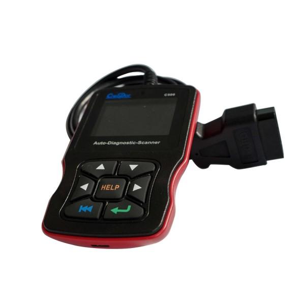 Creator C500 Auto Diagnostic Scanner for OBDII / EOBD / BMW/ Honda/ Acura