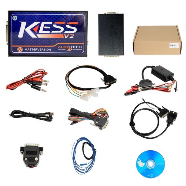 KESS V2 V5.017 Master Manager Tuning Kit with Software V2.47 No Token Limited Support online