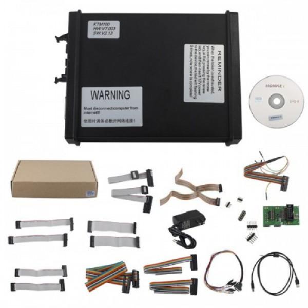 V2.13 KTM100 KTAG ECU Programming Tool Master Version Firmware V7.003 with Unlimited Token